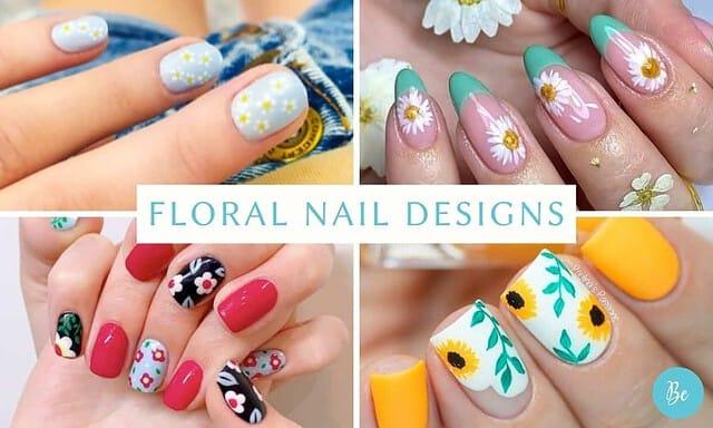Best Floral Nail Designs