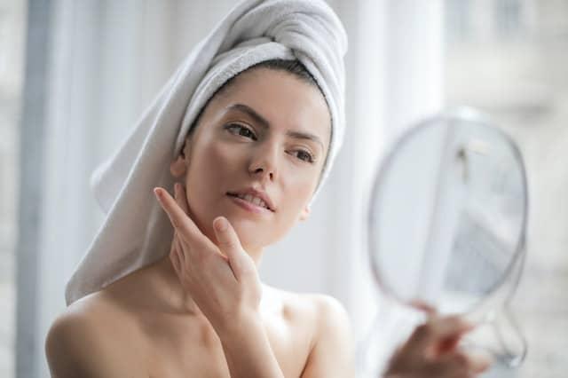 Model Skin Care Routine
