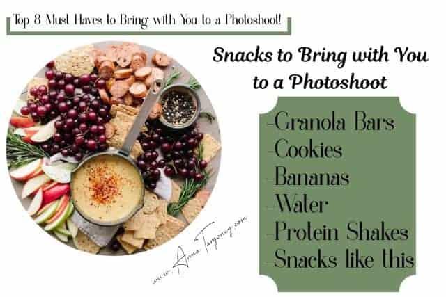 photoshoot preparation checklist