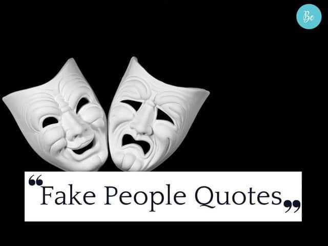 Fake People Quotes with Images Quotes About People Being Fake