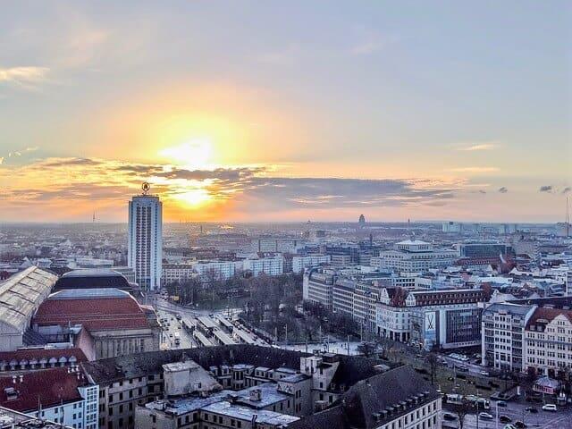 Leipzig - Ansicht am Morgen