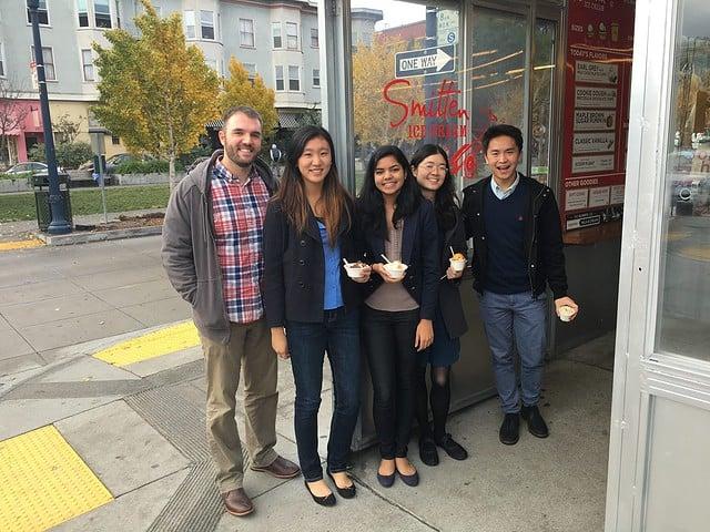 Students visit Thanx