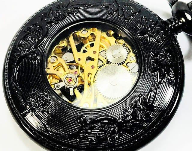 ManChDa Mechanical Pocket Watch