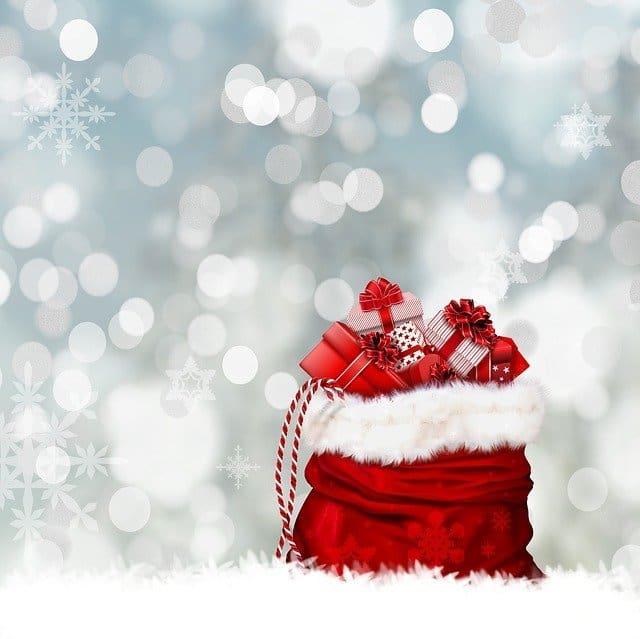 christmas gifts sack presents