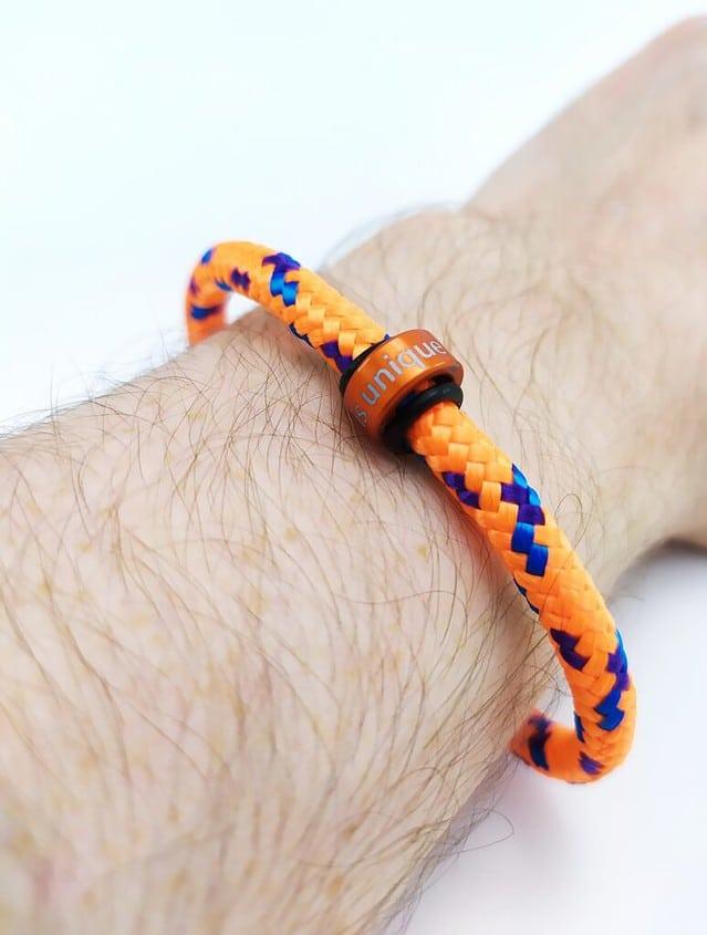 Me wearing my NOTCH bracelet