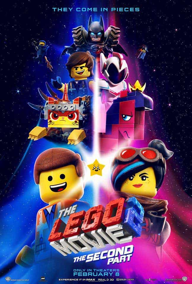 LEGO Cupcakes with free printables from The LEGO Movie 2.