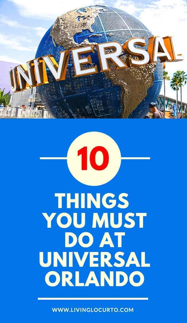 10 Things you MUST do at Universal Orlando in Florida. Vacation Travel Tips