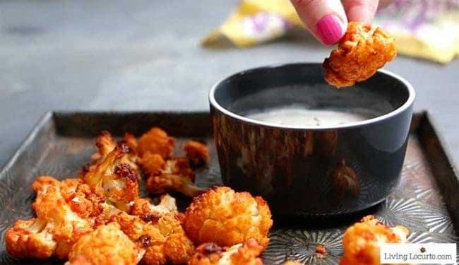 Easy Buffalo Roasted Cauliflower Recipe
