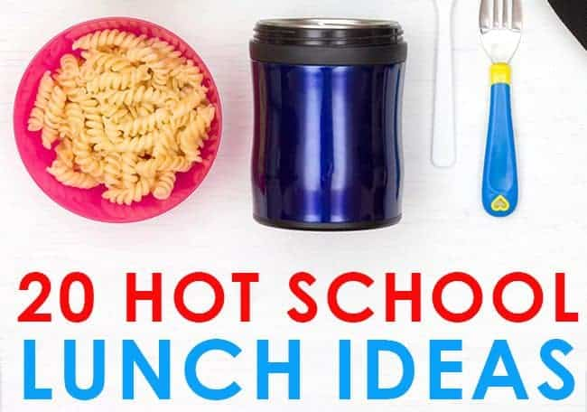 Hot school lunches
