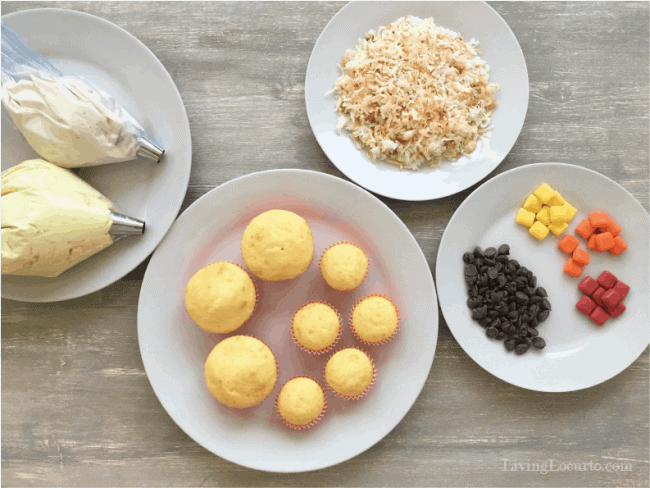 How to Make Chicken and Baby Chick Cupcakes!
