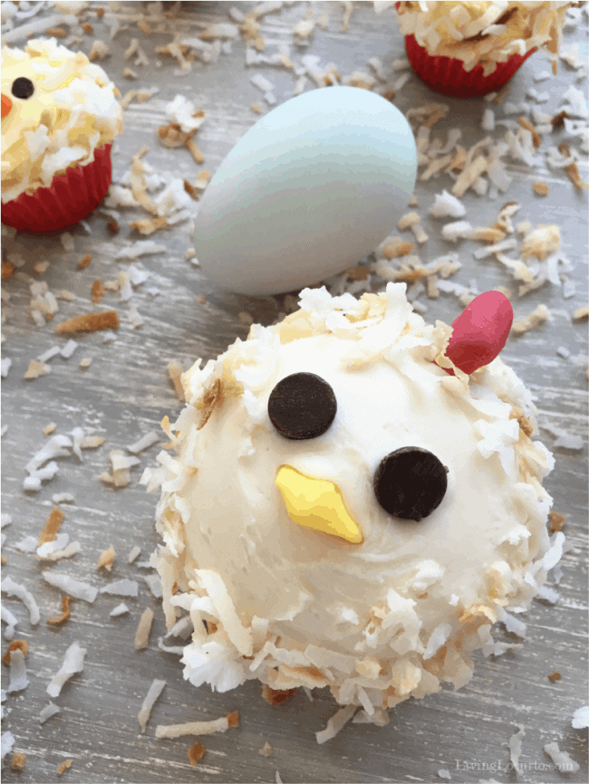 How to Make Mama Chicken and Baby Chick Cupcakes . Easy birthday cake ideas for chicken lovers.