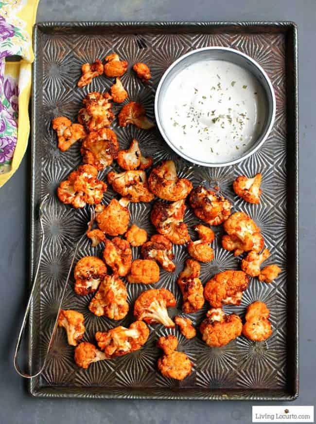 Roasted Buffalo Cauliflower Recipe