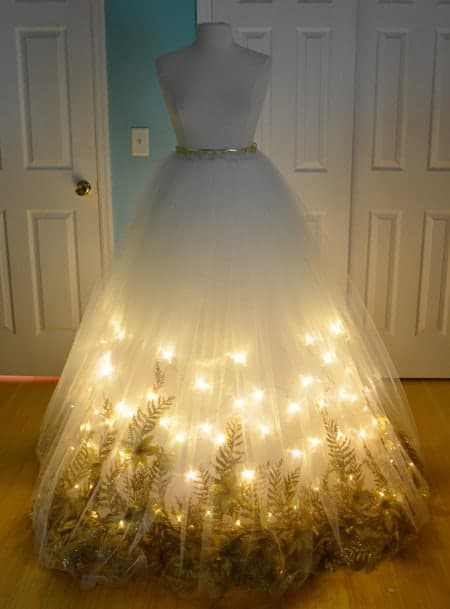 Light Up Fairy Dress! Bring the sparkle to any birthday party or kids activity with the most magical Fairy Party and Craft Ideas!