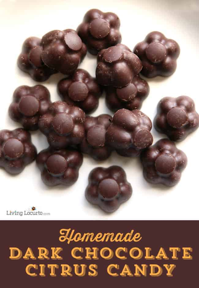 Dark Chocolate Citrus Candy. This no-bake recipe only takes a few minutes and is loaded with nutrients that can positively affect your health! LivingLocurto.com
