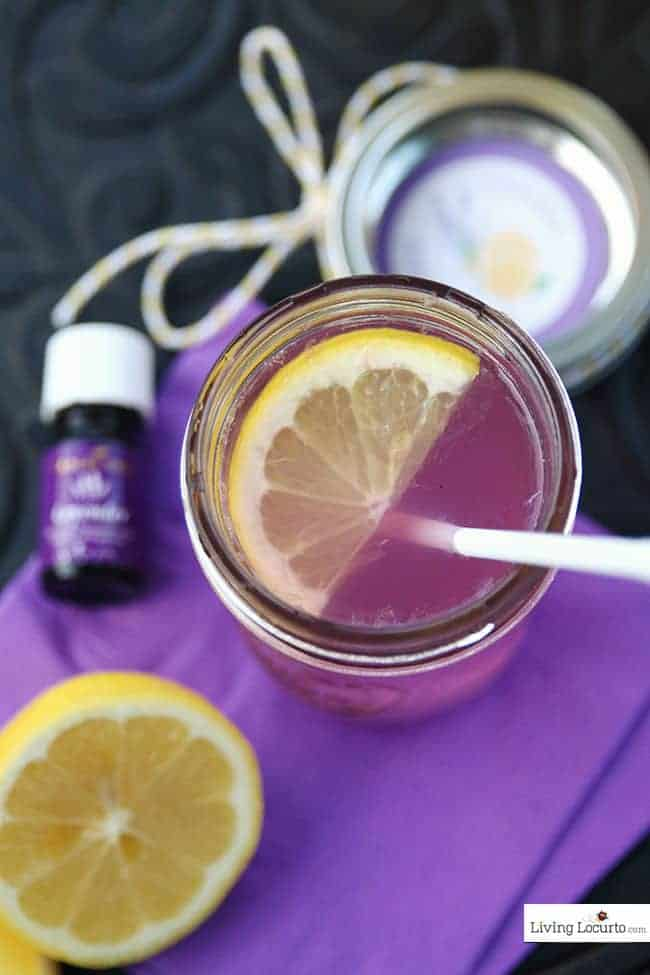 Lavender Hard Lemonade and free printable labels. A cute drink to make by the jar for a party. Smelling thelavender as you sip is refreshing and relaxing.
