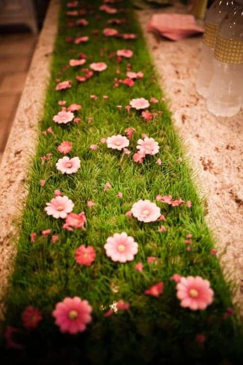 fairy table runner Bring the sparkle to any birthday party or kids activity with the most magical Fairy Party and Craft Ideas!