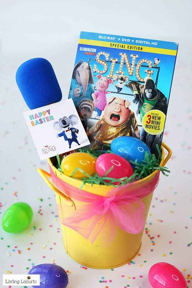 SING MOVIE GIFT - DIY Candy Microphone Party Favors are the perfect craft for a birthday, Easter baskets, or teacher gifts!