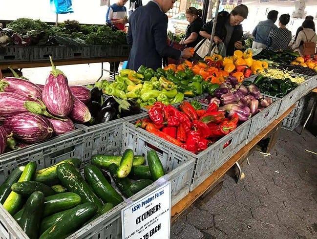Cheap food farmers market