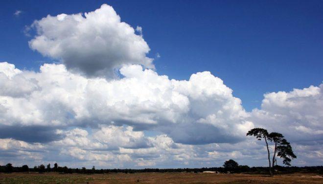 Wolken boven Kale Duinen - Fotograaf Hielke Roelevink