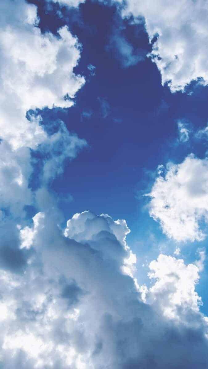 Cloud iPhone Wallpaper, Cloud aesthetic wallpaper, wallpaper aesthetic backgrounds