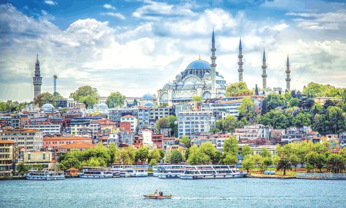 Стамбул — аромат восточной сказки