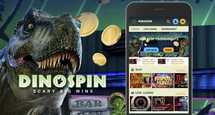 DinoSpin no deposit bonus