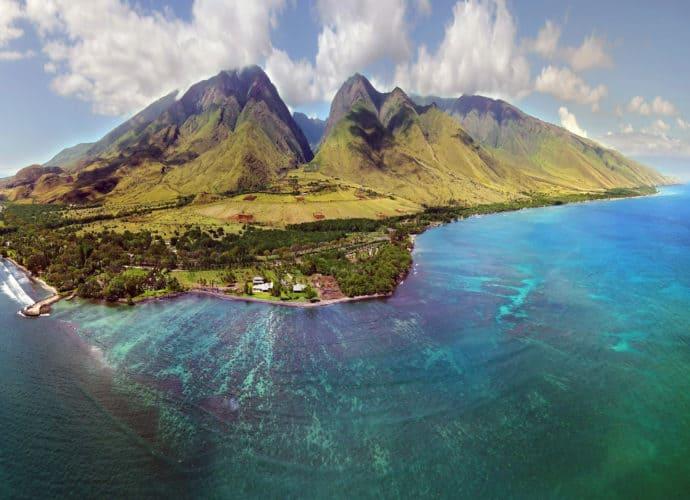 Maui aus der Luft