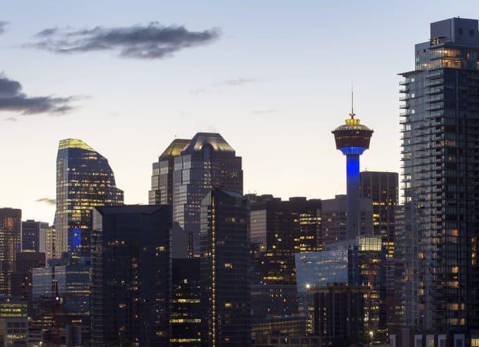 Skyline Calgary