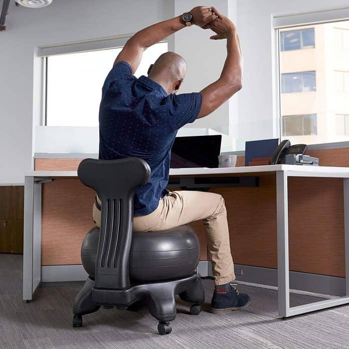Standing Desk VS Exercise Ball - Bill Lentis Media