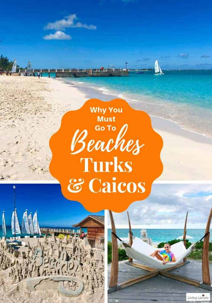 Why You Must Go to Beaches Turks & Caicos! Learn all about Beaches Resorts in Turks & Caicos to plan your next family trip! All-Inclusive Caribbean vacation travel review. Social Media on the Sand. #travel #caribbean