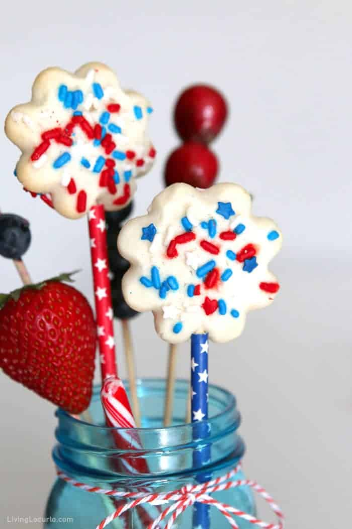 Red White and Blue Dessert Jarcuterie