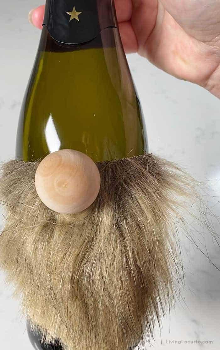 Gnome Wine Bottle Craft Gift Living Locurto