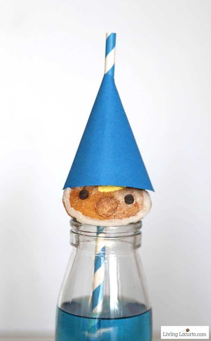Gnomeo Gnome Donuts | No Bake SherlockGnomes Party Treat