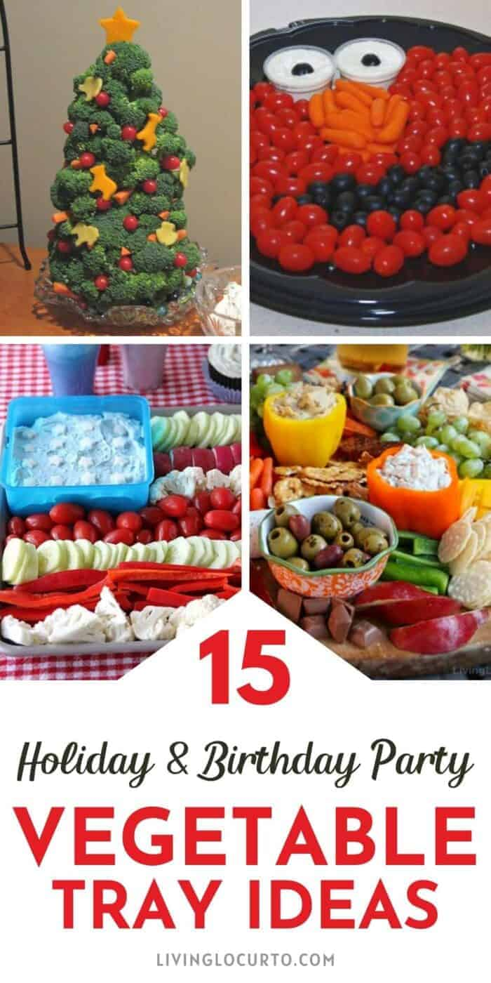 15 Creative Vegetable Trays and Charcuterie Boards
