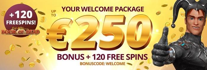 PlatinCasino.com Welcome Bonus