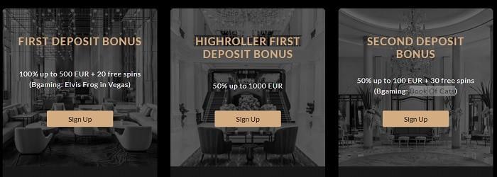 First Deposit Bonus: 100% + 20 FS