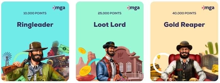 Wild Fortune Loyalty Rewards
