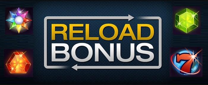 Reload Bonus in Online Casino