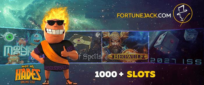 FortuneJack Casino Games