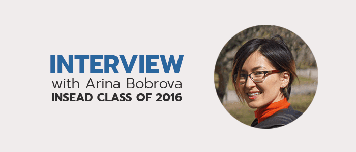Check out more more MBA student interviews!
