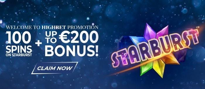 100 free spins and 100% bonus on deposit!