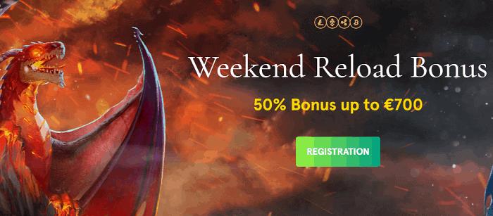 Weekend Reload Bonus