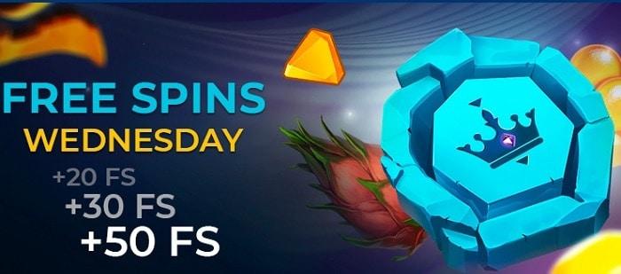 Golden Crown free spins