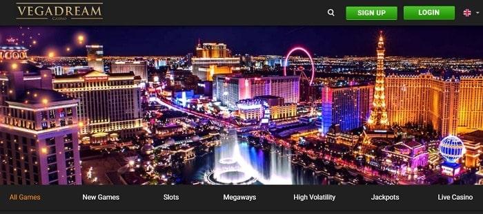 VegasDream Casino Bonus