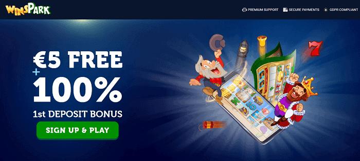 Get 100% welcome bonus and 5 EUR free cash!