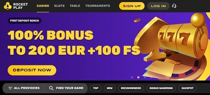 100% bonus on deposit
