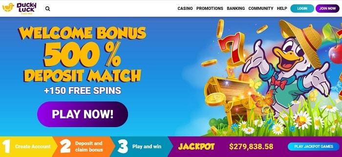 500% match bonus