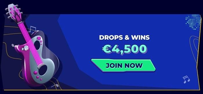 Drops & Wins Prize Draw