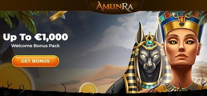 Amunra 1000 euro bonus