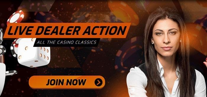 Live Casino Action